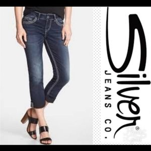 Silver Jeans | Santorini Denim Capri